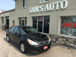 Used 2010 Subaru Legacy Prem for sale in Hamilton, ON
