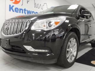 Used 2016 Buick Enclave Enclave AWD with sunroof, leather heated seats and steering wheel and power liftgate for sale in Edmonton, AB