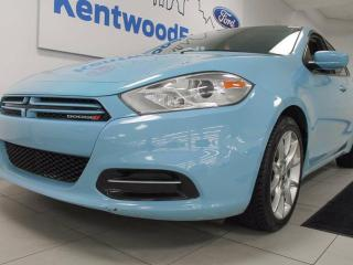 Used 2013 Dodge Dart SXT/Rallye in baby blue! What a treat! for sale in Edmonton, AB