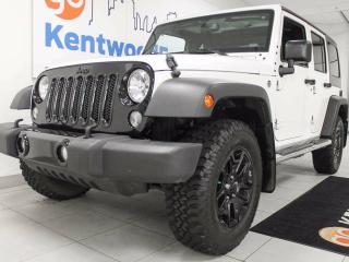 Used 2015 Jeep Wrangler Unlimited Sport- Jeep Jeep !! Vroom Vroom! for sale in Edmonton, AB