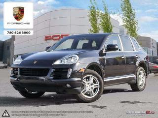 Used 2010 Porsche Cayenne Clean CarProof | Local | AWD | Excellent Price! for sale in Edmonton, AB