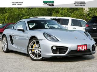 Used 2015 Porsche Cayman PDK for sale in North York, ON