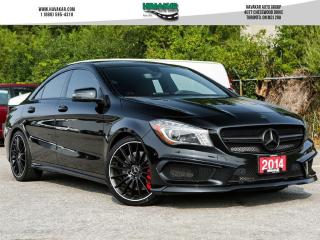 Used 2014 Mercedes-Benz CLA-Class 45 AMG 4MATIC for sale in North York, ON