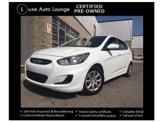 Used 2014 Hyundai Accent GLS - AUTO, HEATED SEATS, BLUETOOTH, A/C, XM RADIO for sale in Orleans, ON