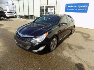 Used 2014 Hyundai Sonata Hybrid Limited for sale in Edmonton, AB