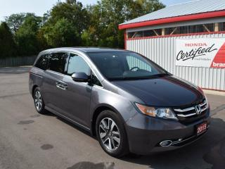 Used 2015 Honda Odyssey Touring Passenger Van for sale in Brantford, ON