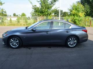 Used 2014 Infiniti Q50 Premium 4dr All-wheel Drive Sedan for sale in Brantford, ON
