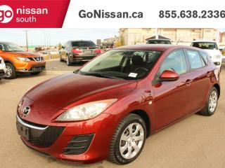 Used 2010 Mazda MAZDA3 GX - AIR, POWER EQUIPMENT, HATCHBACK for sale in Edmonton, AB