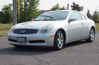 Used 2004 Infiniti G35 Coupe *100,136 KM* No Accident - 1-Owner - Mint for sale in North York, ON