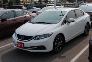 Used 2015 Honda Civic EX SUNROOF | ALLOYS | PUSH BUTTON START for sale in Pickering, ON