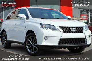 Used 2015 Lexus RX 350 F Sport LEATHER | NAVI | REMOTE STARTER for sale in Pickering, ON