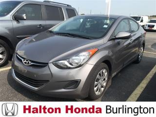 Used 2012 Hyundai Elantra GL for sale in Burlington, ON