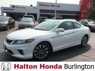 Used 2014 Honda Accord Coupe EX|BLUETOOTH|HEATED SEATS|REAR CAMERA for sale in Burlington, ON