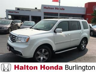 Used 2014 Honda Pilot TOURING/ LEATHER HEATED SEATS/ NAVIGATION for sale in Burlington, ON