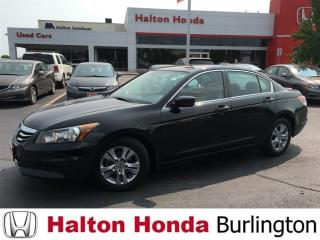 Used 2012 Honda Accord Sedan SE|ALLOYS|BLUETOOTH for sale in Burlington, ON