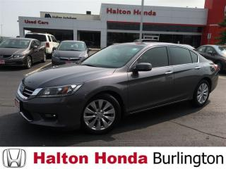 Used 2014 Honda Accord Sedan EX-L for sale in Burlington, ON