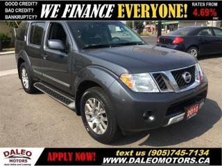 Used 2010 Nissan Pathfinder LE | 4X4 | 7 PASS | FULLY LOADED! for sale in Hamilton, ON