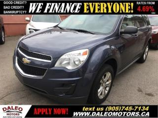 Used 2014 Chevrolet Equinox LS | BLUETOOTH | VOICE COMMAND for sale in Hamilton, ON