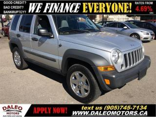 Used 2006 Jeep Liberty Sport | 4X4 | SUNROOF for sale in Hamilton, ON