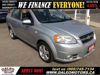 Used 2008 Chevrolet Aveo LT | EXTREME ECONOMY! for sale in Hamilton, ON