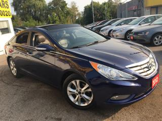Used 2012 Hyundai Sonata LIMITED/AUTO/SUNROOF/ALLOYS/HEATED SEATS/LIKE NEW for sale in Scarborough, ON
