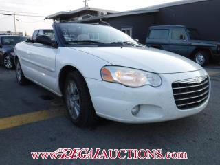 Used 2006 Chrysler SEBRING LIMITED 2D CONVERTIBLE for sale in Calgary, AB