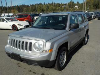 Used 2012 Jeep Patriot Sport 4WD for sale in Burnaby, BC