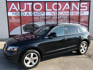 Used 2012 Audi Q5 2.0T Premium Plus PREMIUM PLUS-ALL CREDIT ACCEPTED for sale in Scarborough, ON