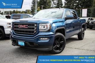 New 2018 GMC Sierra 1500 SLE Satellite Radio and Backup Camera for sale in Port Coquitlam, BC