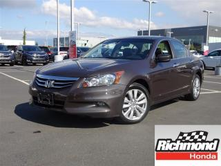 Used 2011 Honda Accord EX-L V6! 6 Months Limited Powertrain Warranty! for sale in Richmond, BC