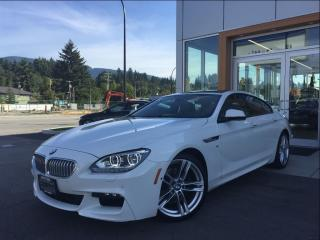 Used 2015 BMW 650i Gran Coupe xDrive / M-Sport / Bang & Olufsen Sound for sale in North Vancouver, BC