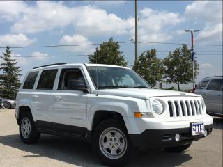 Used 2015 Jeep Patriot NORTH**SUNROOF**LOW LOW KM'S!! for sale in Mississauga, ON