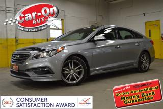 Used 2016 Hyundai Sonata Sport Tech LEATHER NAV PANO ROOFONLY 7600 KMS for sale in Ottawa, ON