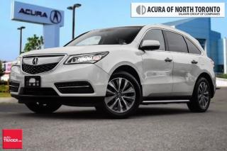 Used 2016 Acura MDX Tech Premium Milano Leather, Entertainment System, for sale in Thornhill, ON
