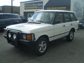 Used 1994 Land Rover Range Rover COUNTY SOLD SOLD for sale in Etobicoke, ON