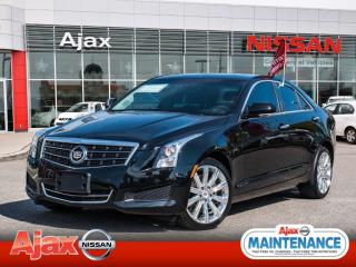 Used 2014 Cadillac ATS AWD*Back Up Cam*Bluetooth*Leather*Heated Seats for sale in Ajax, ON