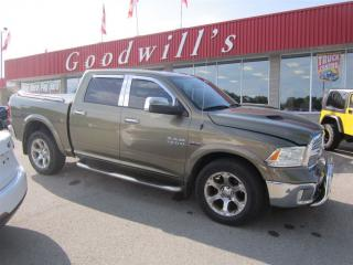 Used 2013 Dodge Ram 1500 LARAMIE! FACTORY REMOTE START! for sale in Aylmer, ON