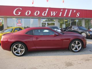 Used 2010 Chevrolet Camaro SS! HEATED LEATHER SEATS! SUNROOF! BLUETOOTH! for sale in Aylmer, ON