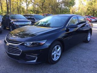 Used 2016 Chevrolet MALIBU LS * 1 OWNER * REAR CAM * BLUETOOTH * PREMIUM CLOTH SEATING * LOW KM for sale in London, ON
