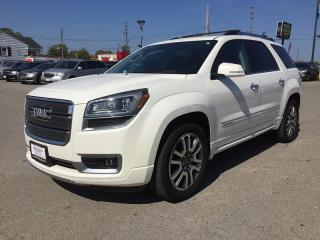 Used 2013 GMC ACADIA DENALI * AWD * LEATHER * DVD * NAV * REAR CAM * SUNROOF * BLUETOOTH * 7 PASS for sale in London, ON