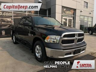 Used 2015 Dodge Ram 1500 ST| 4X4| Cloth| Low KM| AUX| Side Steps for sale in Edmonton, AB