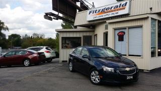 Used 2014 Chevrolet Cruze 1LT - BACK-UP CAM! SUNROOF! for sale in Kitchener, ON