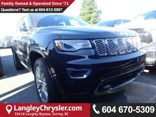 New 2018 Jeep Grand Cherokee OVERLAND 4X4 for sale in Surrey, BC