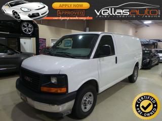 Used 2017 GMC Savana 2500 3/4 TON CARGO| 135WB| ONLY 7,471KM for sale in Woodbridge, ON