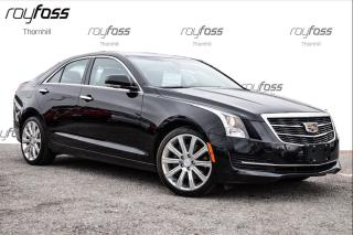 Used 2015 Cadillac ATS Luxury AWD Navigation Sunroof 18 Wheels for sale in Thornhill, ON