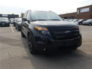 Used 2014 Ford Explorer Sport Navigation, Leather, Dual DVD AND Sunroof for sale in Concord, ON