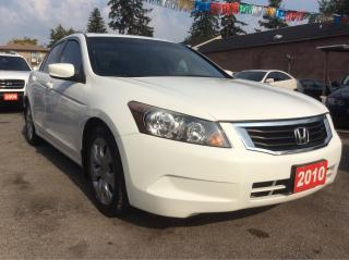 Used 2010 Honda Accord EX-L for sale in Scarborough, ON