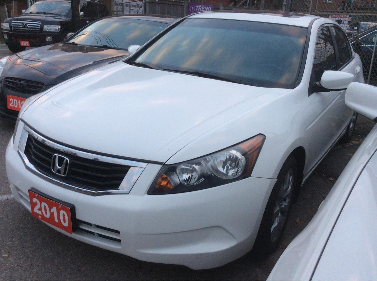 2010 Honda Accord 2.4L/EX-L/Leather/Sunroof/Heated Seats/Alloys