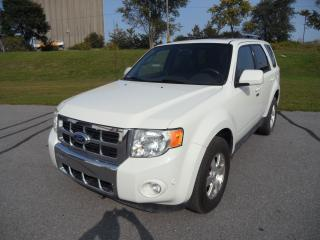 Used 2011 Ford Escape Limited for sale in Kingston, ON
