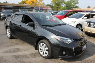 Used 2015 Toyota Corolla S Leather Heated Seats Backup Cam for sale in Brampton, ON